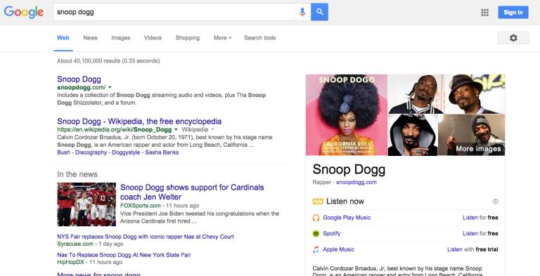SnoopDogg Screenshot
