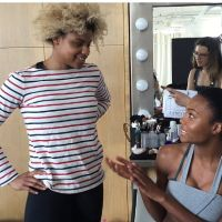Behind the Scenes Of Self Magazine with Olympian Nzingha Prescod
