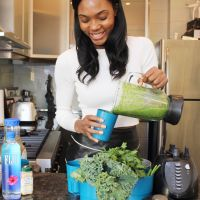 #AfiyaInTheKitchen: Making My Perfect Green Smoothie