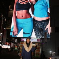 My First TIMES SQUARE BIllBOARD!!!
