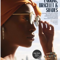 My Editorial For MARIE CLAIRE Magazine USA !!