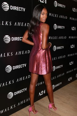 "- New York, NY - 6/26/18 -A24 and Direct TV Host a Special New York Screening of 'Woman Walks Ahead"" . -Pictured Afiya Bennett -Photo by: Dave Allocca/Starpix -Location: The Whitby Hotel"