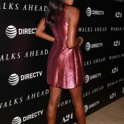 """- New York, NY - 6/26/18 -A24 and Direct TV Host a Special New York Screening of 'Woman Walks Ahead"""" . -Pictured Afiya Bennett -Photo by: Dave Allocca/Starpix -Location: The Whitby Hotel"""