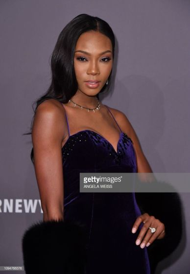 Actress Afiya Bennett attends the amfAR Gala New York at Cipriani Wall Street in New York City on February 6, 2019. (Photo by ANGELA WEISS / AFP) (Photo credit should read ANGELA WEISS/AFP/Getty Images)